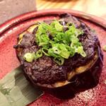 魚山人 - 賀茂ナスの肉味噌田楽