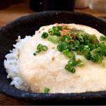 魚山人 - 大和芋のとろろご飯