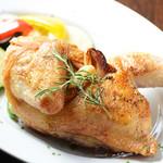 Gavino - ひな鳥半身のオーブン焼き