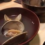 もみぢ - 蛤蒸し