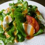 ポポラーレ - 前菜のサラダ