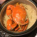 快積 八衛 - どうまん蟹の炊き込みご飯