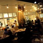 マールカフェ - テラス席