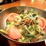 膳 - 韓国風サラダ 520円