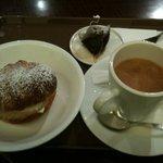 サンマルクカフェ - シュークリームセット