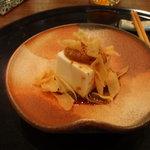 中国料理 杤 - 胡麻味噌だれの冷奴