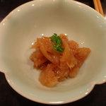 中国料理 杤 - くらげの和えもの