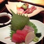 旬魚旬菜 むらおか - 【三段弁当】刺身
