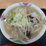 浜っ子 麺八 - 料理写真:'17/09/30 タンメン(税抜750円)