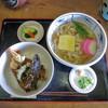 十得 - 料理写真:天丼セット(かやくうどん