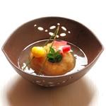 末広 - 蓮根饅頭