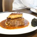 俺のフレンチ 博多 - 牛フィレ肉とフォアグラのロッシーニ