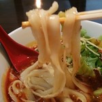 中華料理 菜香菜 - 刀削麺です。