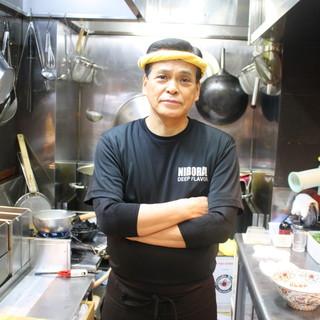 にぼらやの一杯を作り上げた3店舗の料理長「鯖江龍太郎料理長」