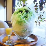 カフェ フクバコ - 料理写真:チョコミントかき氷