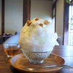 カフェ フクバコ - レアチーズかき氷