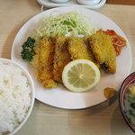 サミー食堂 - チャーカツ定食