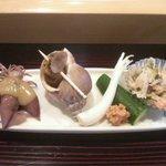東寿司 - お通し