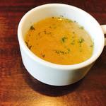 74030819 - スープも色んな味がします。