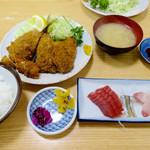 74030934 - 魚河岸定食1100円