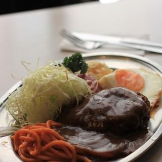 センターグリル - 料理写真:ハンバーグステーキ(単品)