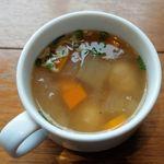 74031379 - セットメニューのスープ。