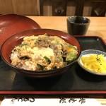 つるてん生楽 - 今回は、他人丼750円です(2017.10.1)