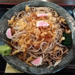 松月庵 - 冷したぬき蕎麦(大盛)