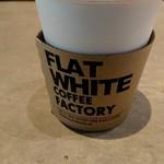 フラット ホワイト コーヒー ファクトリー - ドリンク写真: