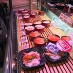 朝市食堂 函館ぶっかけ - 種類も豊富
