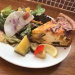 metsa - いろいろ野菜のキッシュ