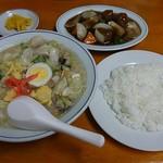 74036383 - 正華園定食(太平燕 半分と肉団子付き)