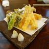 手打蕎麦 大江戸 - 料理写真:天ぷら盛合せ