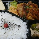 フライドキッチントリノ - 油淋鶏弁当(594円)