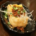 フルミチ  - 肉味噌豆富(300円)2017年9月