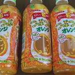 ベイシア - ドリンク写真:つぶつぶオレンジ 95円×3