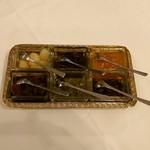 ウィステリア - カレーの薬味