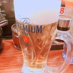 博多らーめん Shin-Shin 博多デイトス店 - 生ビール