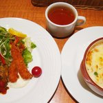 京の洋食工房 MOLLette - 思ったよりもデカかった「ミニドリア」