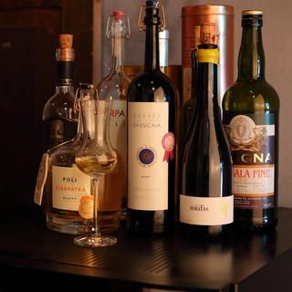 厳選されたイタリアのワイン