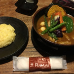 ラマイ 札幌中央店 - チキンスープカレー1.100円