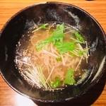 三代目 白兵衛 - 鯛骨塩らーめん(850円)