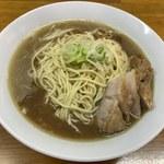 中華そば屋 伊藤 - 肉そば(大盛り)