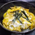 やぶ久 - ランチメニュー13時からのサービスメニュー『玉子丼』そば・うどんと一緒にお召し上がり下さい。税込み360円