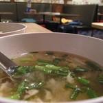 74043170 - ランチセットのスープ(美味しい)