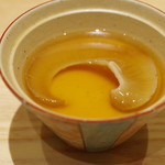 Sushi Ichizu - フカヒレ茶碗蒸し