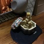 和酒BAR 煙草屋 - チーズしょうゆ漬け