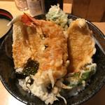 天丼ふじ - 天丼 800円(税込)