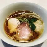 麺画廊 英 - 地鶏 醤油拉麺