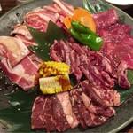 安楽亭 - 料理写真:カナディアンBIGプレート